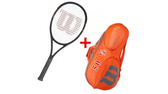 Скидка 50% на теннисные сумки при покупки теннисной ракетки