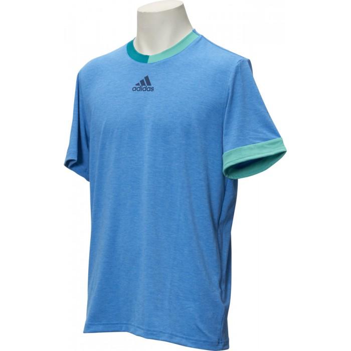Мужская теннисная футболка Adidas Barricade Pract TEE