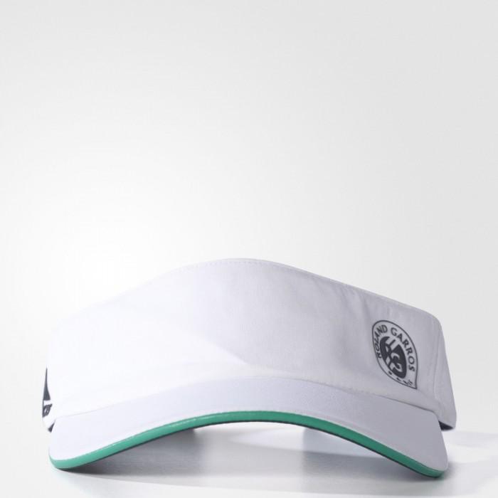 Женская теннисная кепка-козырек Adidas Roland-Garros Player