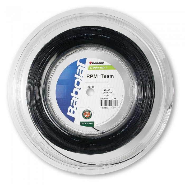 Струны Babolat RPM TEAM (125/17, черный)