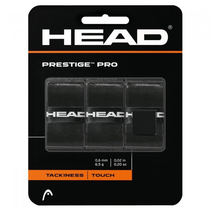 Намотки тонкие HEAD Prestige Pro Overwrap (черный)