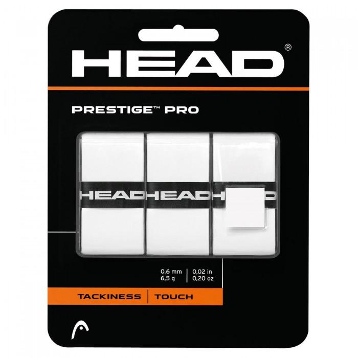 Намотки тонкие HEAD Prestige Pro Overwrap (белые)