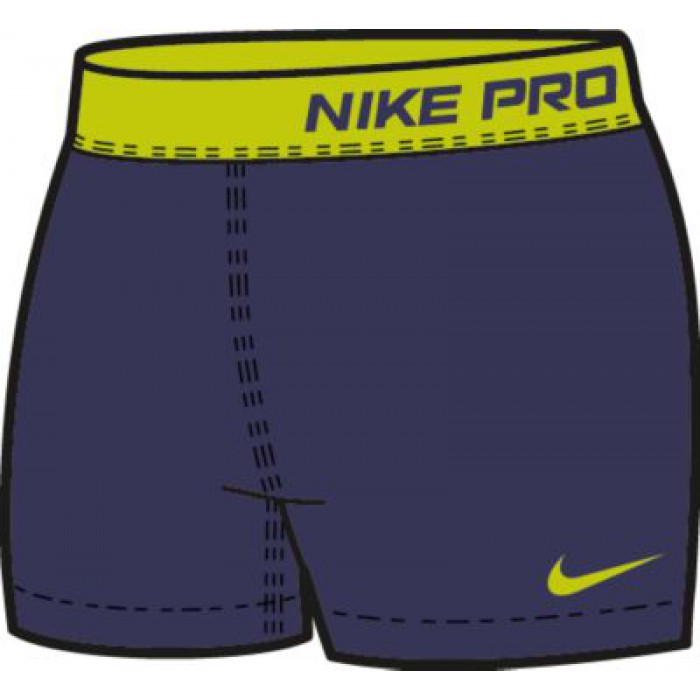 """Шортики под платье Nike PRO 2.5"""" SHORT II"""