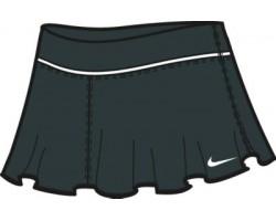 Женская теннисная юбка Nike FLOUNCE KNIT