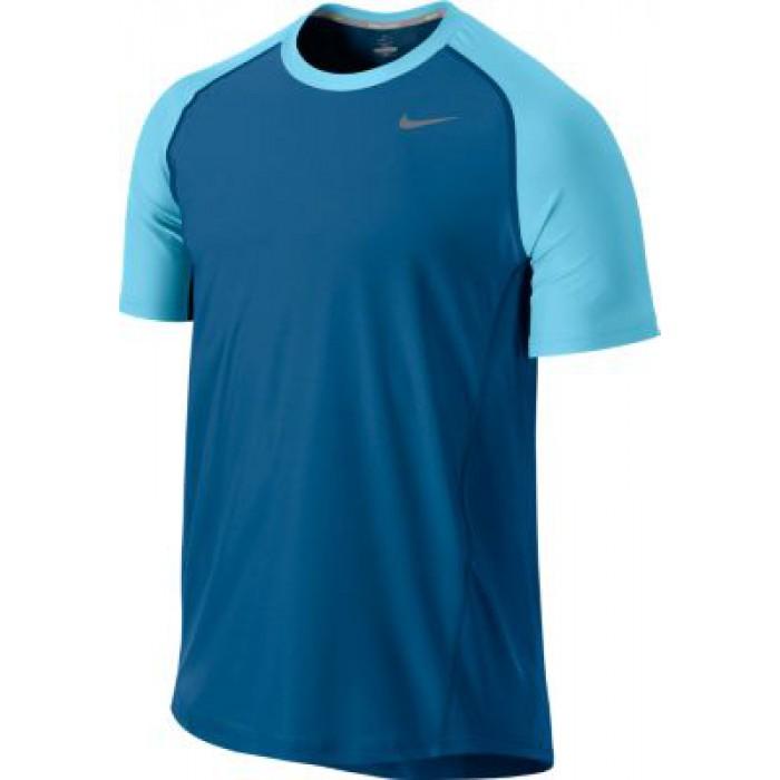 Мужская теннисная футболка Nike ADVANTAGE UV CREW