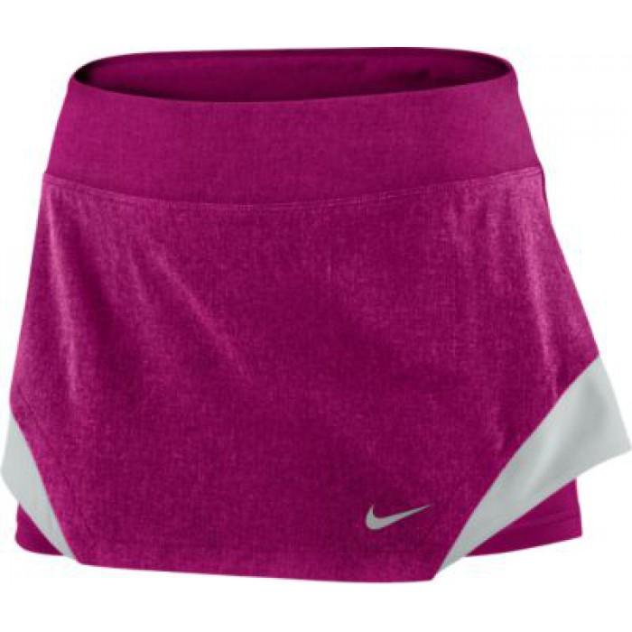 Женская теннисная юбка Nike HEATHERED WOVEN SKIRT
