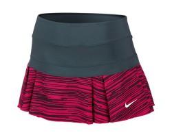 Женская теннисная юбка Nike VICTORY PRINTED PLEATED SKIRT
