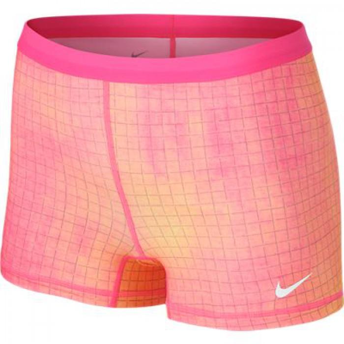 Женские теннисные шорты Nike SLAM PRINTED SHORT