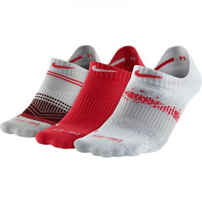 Женские теннисные носки Nike WOMEN'S DRI FIT GRAPHIC No-Show