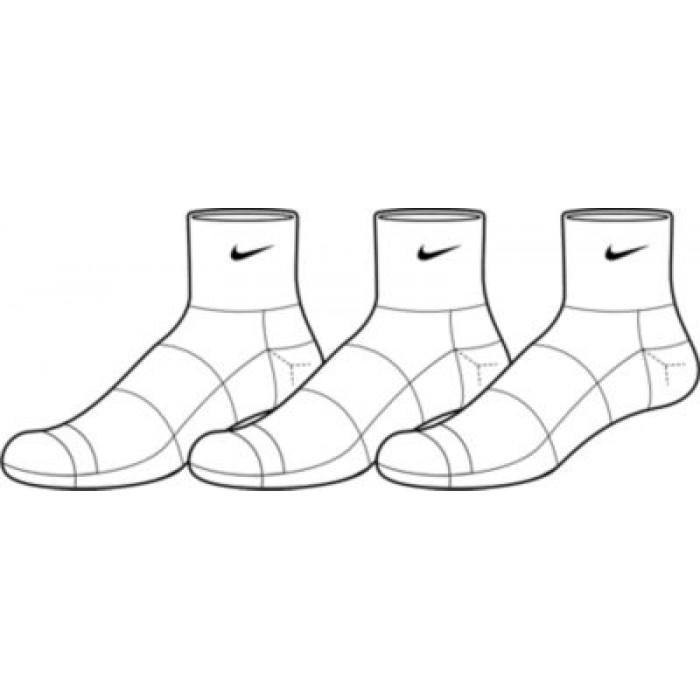 Носки Nike 3PPK CTN HALF CUSH QT