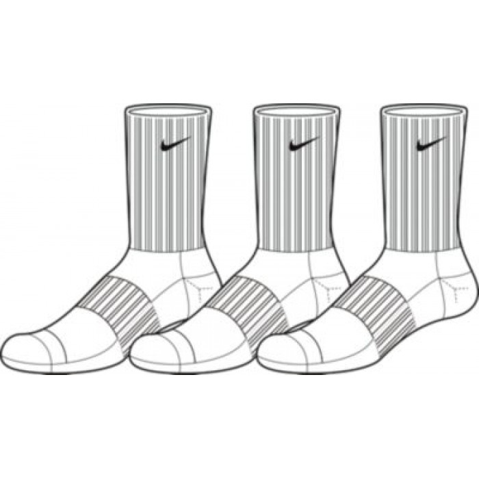 Носки Nike 3PPK CTN HALF CUSH CR