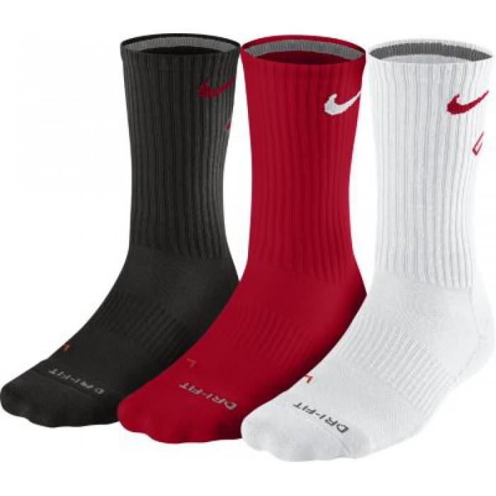 Носки Nike 3ppk Dri Fit Fly Crew