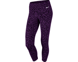 Женские теннисные капри Nike Club Allover Print Cropped