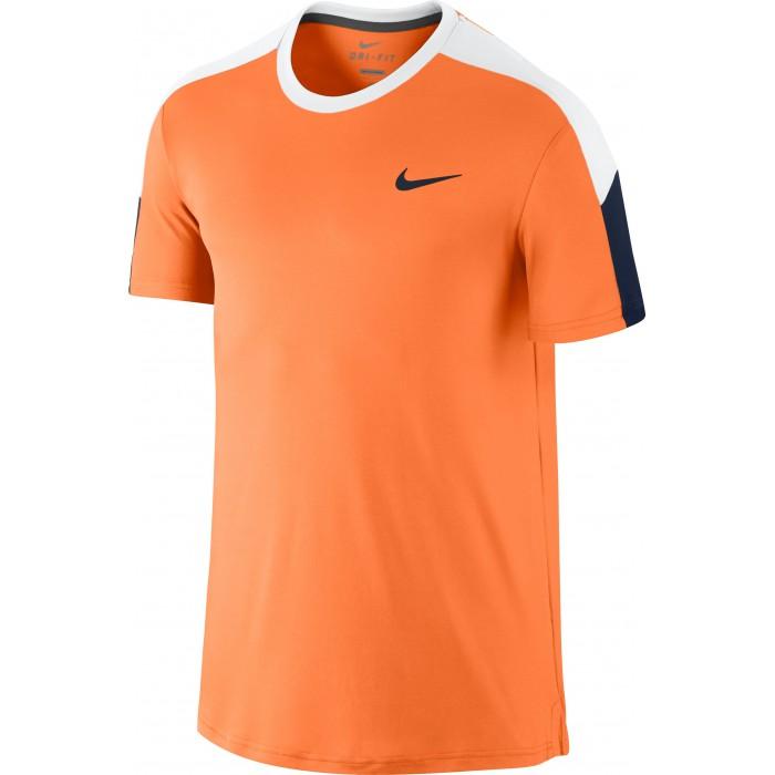 Мужская теннисная футболка Nike TEAM COURT CREW
