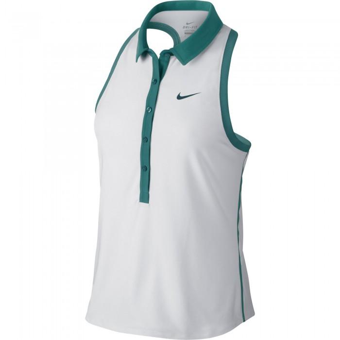 Женское теннисное поло Nike Advantage Sleeveless