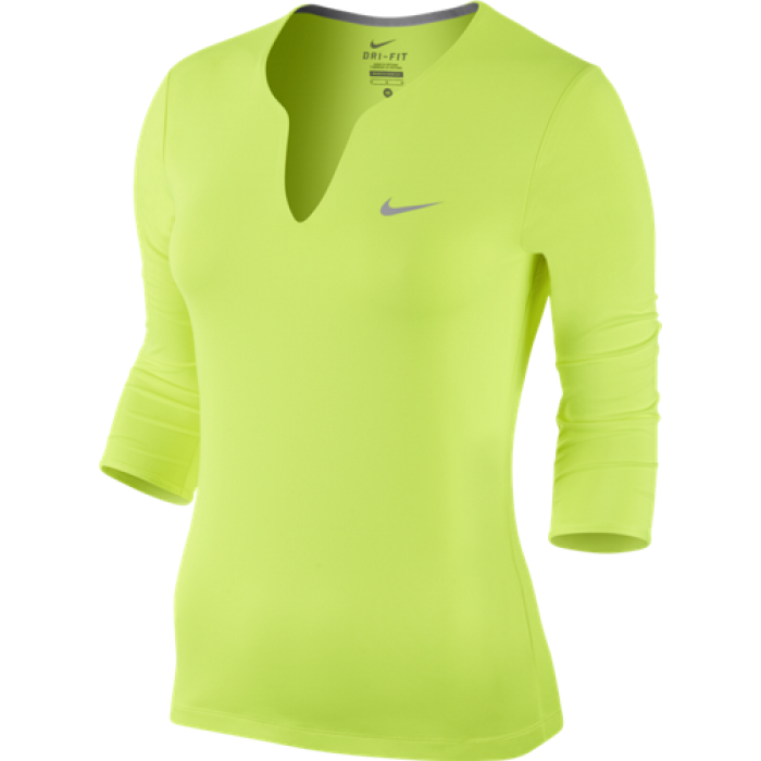 Женское теннисное поло Nike Pure