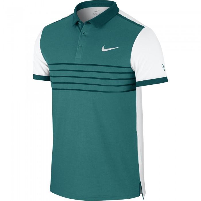 Мужское теннисное поло Nike Premier Roger Federer Printed