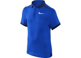 Детская теннисная футболка-поло Nike Advantage Solid