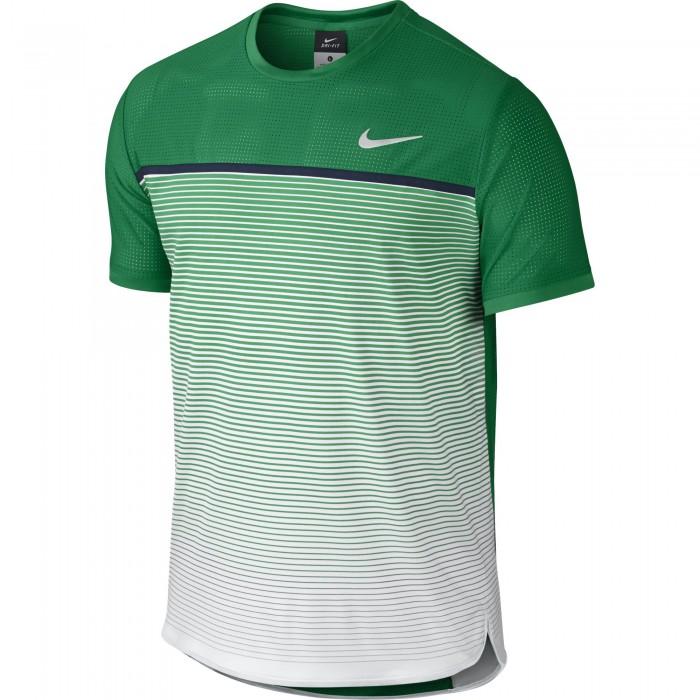 Мужская теннисная футболка Nike Challenger Premier Crew