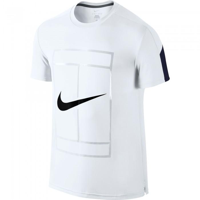 Мужская теннисная футболка Nike SHORT SLEEVE TOP