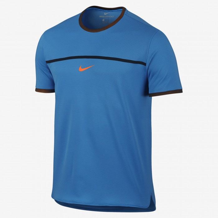 Мужская теннисная футболка Nike Challenger Premier Rafa Crew
