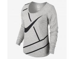 Женская теннисная футболка Nike COURT PRACTICE