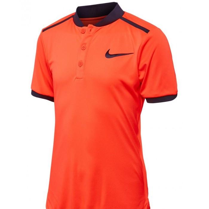 Детская теннисная футболка-поло Nike POLO SOLID