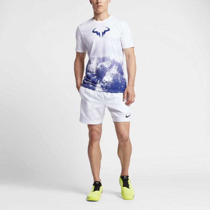 Мужская теннисная футболка Nike Court Rafa