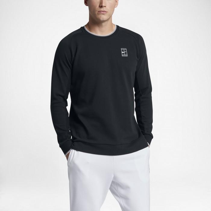 Мужская теннисная футболка с длинным рукавом Nike Court