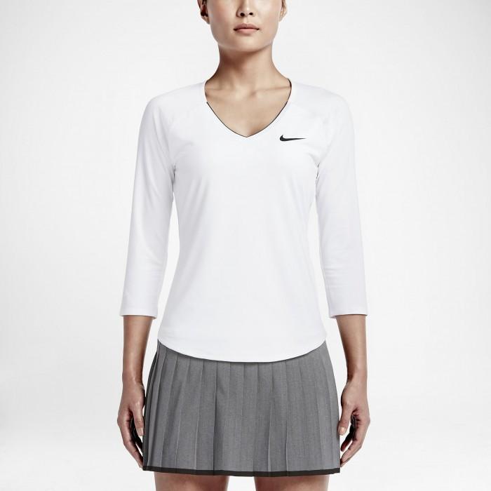 Женская теннисная футболка Nike Pure