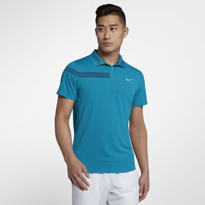 Мужская теннисная рубашка-поло Nike Court Advantage RF