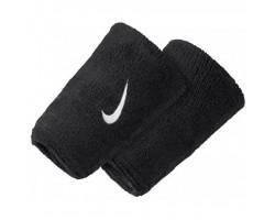 Напульсники Nike SWOOSH DOUBLEWIDE WRISTBAND (черные)