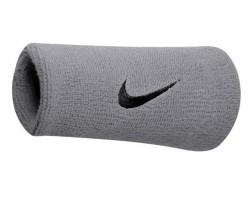 Напульсники Nike SWOOSH DOUBLEWIDE WRISTBAND (серебр.)