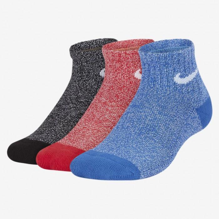 Детские теннисные носки Nike Performance Cushioned Quarter Training