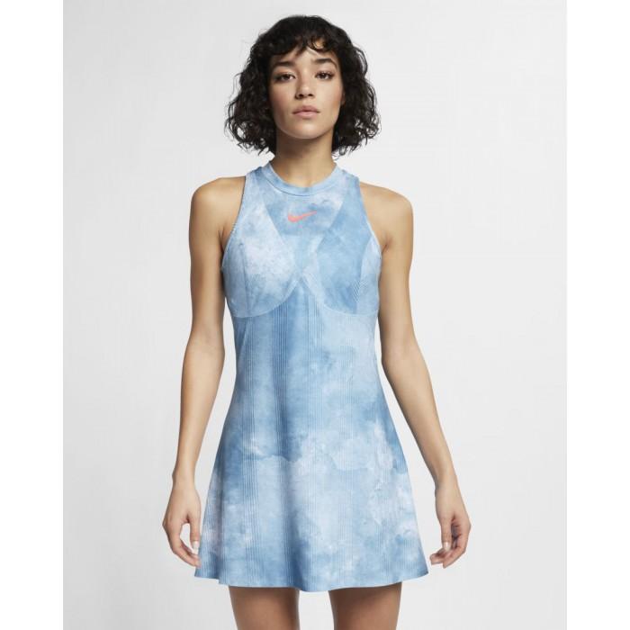 Женское теннисное платье Nike MARIA W NKCT DRY DRESS PR MB