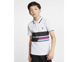 Теннисная рубашка-поло для мальчиков школьного возраста Nike Court Advantage