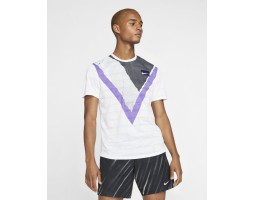 Мужская теннисная футболка с коротким рукавом Nike Court Challenger
