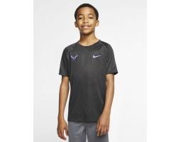 Теннисная футболка с графикой для мальчиков Nike Court Dri-FIT Rafa
