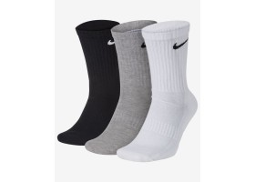 Носки до середины голени для тренинга (3 пары) Nike Everyday Cushioned