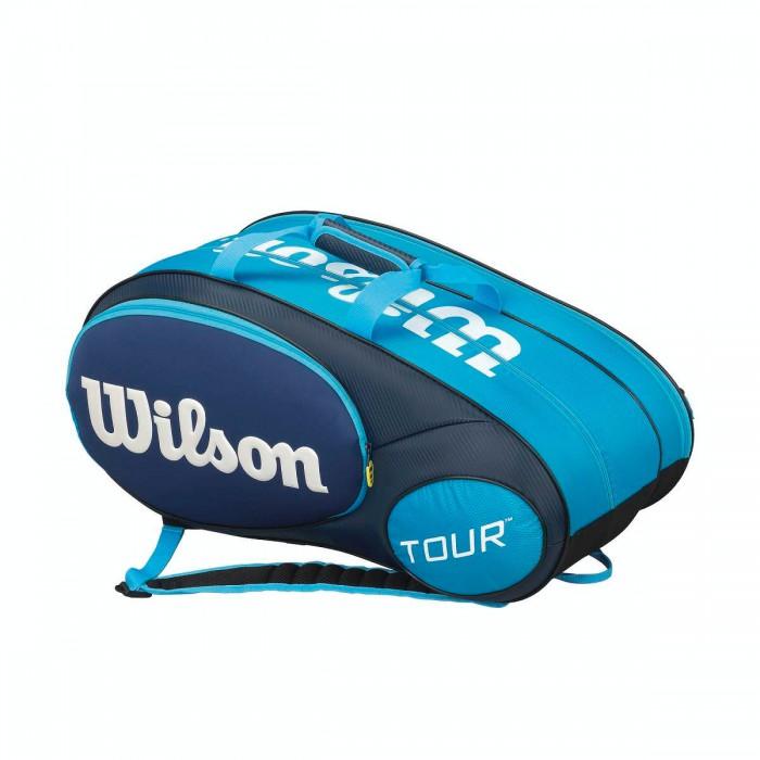 Сумка Wilson MINI TOUR BLUE 6 PACK