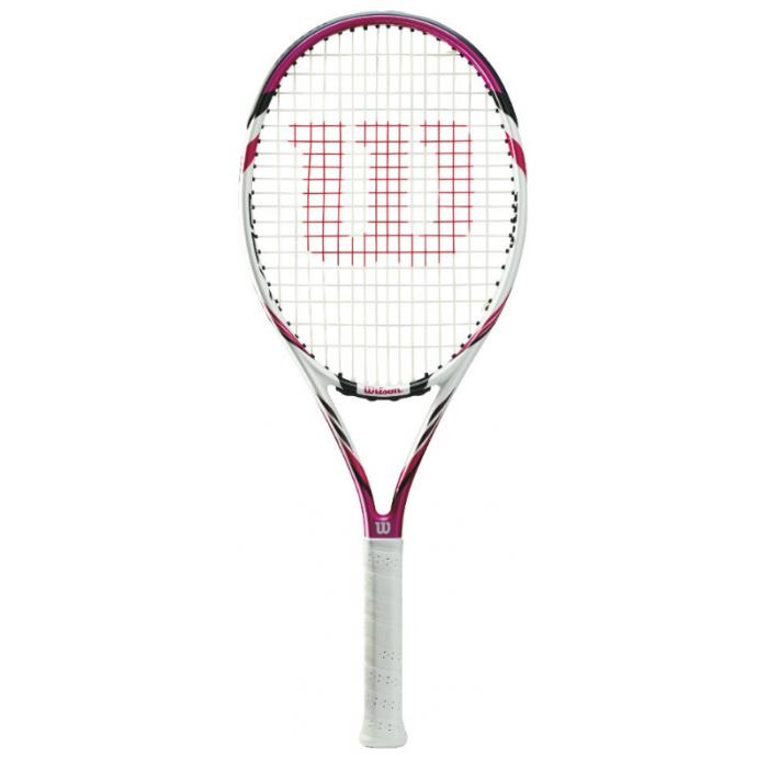 Теннисная ракетка Wilson Six.Two 100 Pink (2017)