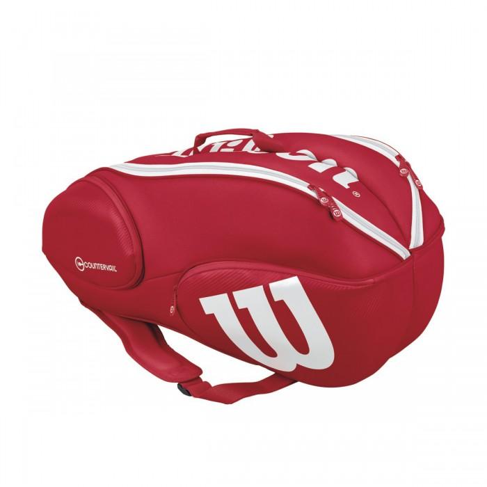 Теннисная сумка Wilson Vancouver 9 pack RDWH (2017)