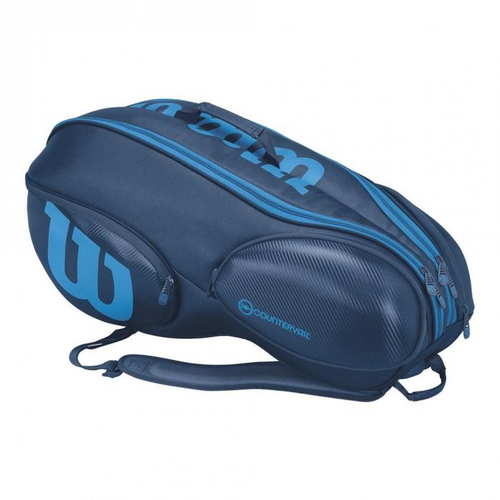 Теннисная сумка Wilson Vancouver 9 pack BLBL (2017)