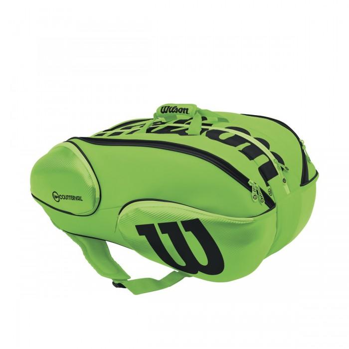 Теннисная сумка Wilson Vancouver 15 pack GRBK (2017)