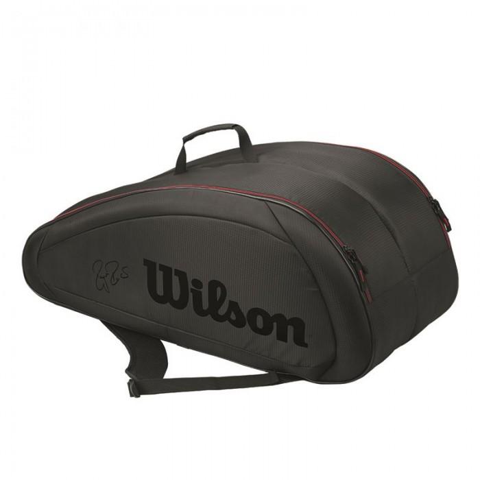 Теннисная сумка Wilson Federer Team 12 Pack Tennis Bag (2017)