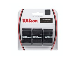 Намотки Wilson ULTRA WRAP OVERGRIP BK 3 PK