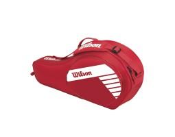 Детская теннисная сумка Wilson JUNIOR 3 PACK RDWH